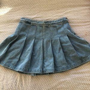 Jean skirt NEVER WORN